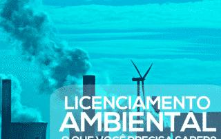 chaminés industrial lançando material na atmosfera ressaltando a importância do licenciamento ambiental
